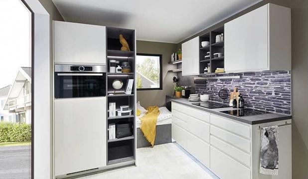 Colonne de cuisine pour plus de place